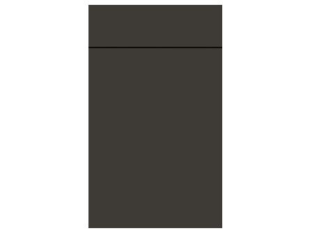 Porter Matt Graphite Kitchen Door
