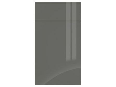 Welford Graphite Handleless Kitchen Door