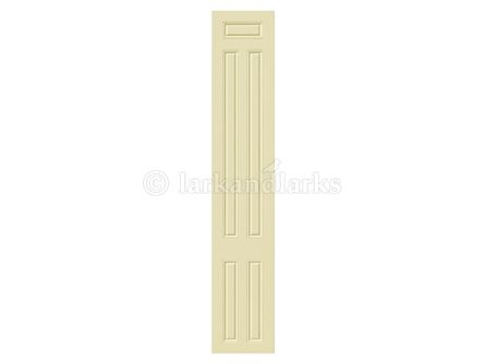 Broadway bedroom doors in ivory finish.