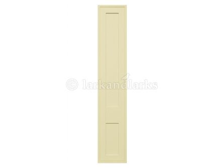 Tullymore bedroom doors in ivory finish.