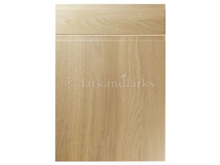 Kendal handleless kitchen door and drawer