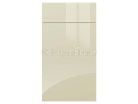 Gravity Gloss Cream Kitchen Doors & Drawers