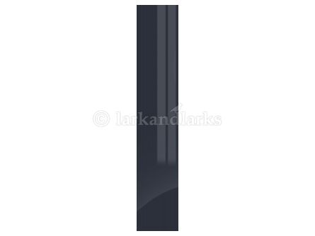 Gravity Gloss Indigo Blue Bedroom Door