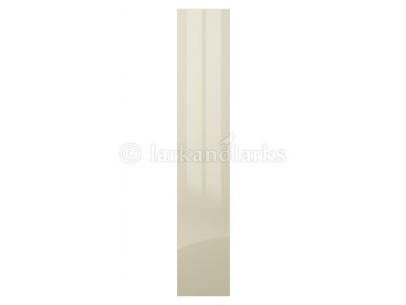 High gloss light grey acrylic bedroom door
