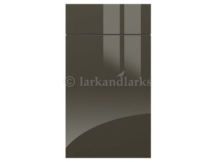 Metallic Anthracite acrylic kitchen door