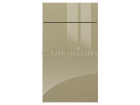 gravity gloss metallic beige kitchen door