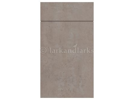 Gravity Ceramic Light Concrete Kitchen Door & Drawer