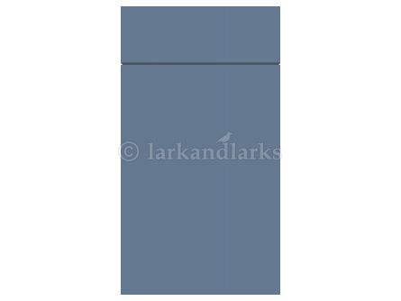 Gravity door in matt smoke blue