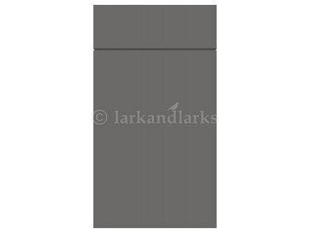 Gravity Matt Onyx Grey door and drawer