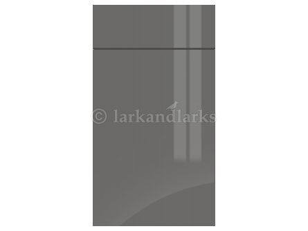 Gravity Gloss Onyx Grey door and drawer