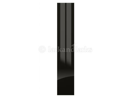 Zurfiz Ultragloss Black bedroom door and drawer