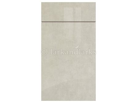 Zurfiz Ultragloss Limestone kitchen door and drawer