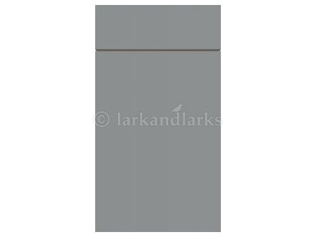 Zurfiz supermatt dust grey kitchen door