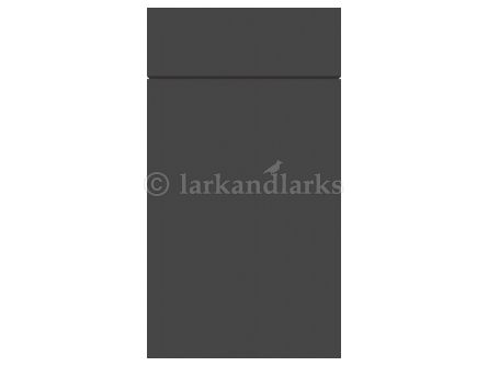 Zurfiz supermatt graphite kitchen unit door and drawer front