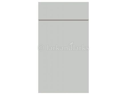 Zurfiz supermatt light grey kitchen cabinet door