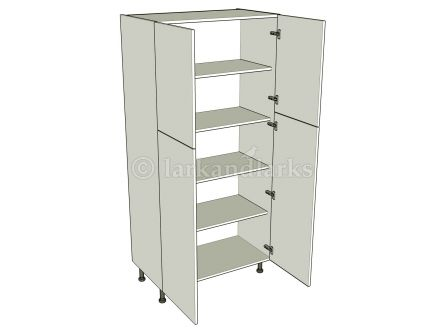 Medium Storage Unit (1970mm) - Double - shown with doors/drawer fronts