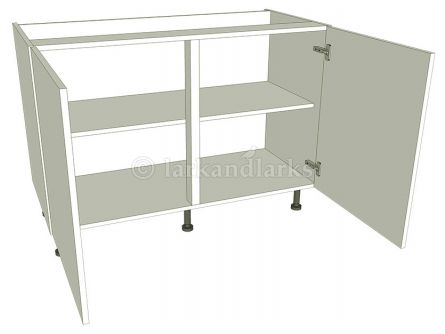 Highline Kitchen Base Unit - Double - shown with doors/drawer fronts