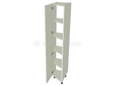 Angled tallboy storage unit carcass 1250mm high