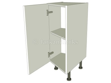 Angled front kitchen base unit carcass