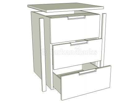 Internal Drawer Packs -  3 Drawer