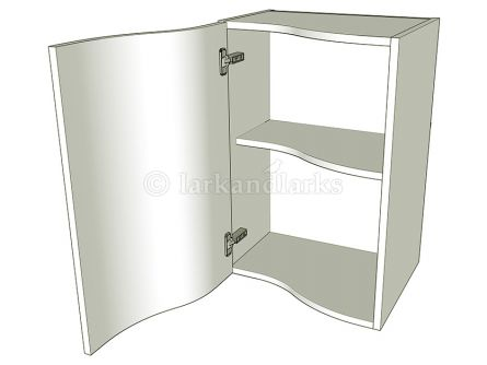 S-Shaped Kitchen Wall Units -  Single