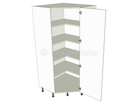 Diagonal  Low Storage Unit 1825h - shown with doors/drawer fronts
