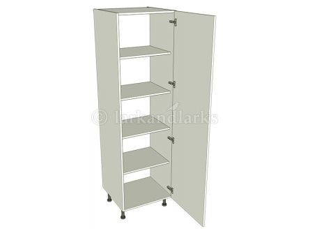 Low storage/broom cupboard unit carcass 1825mm high