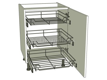 Kitchen base storage unit