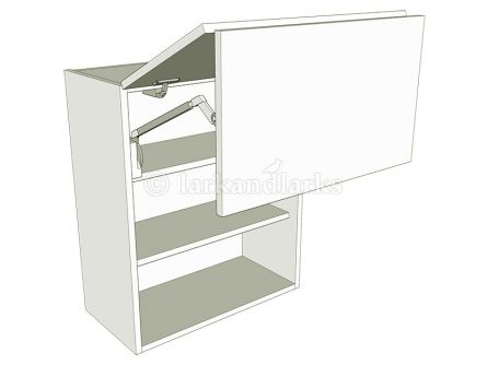 Gaslift Wall Unit - shown with doors/drawer fronts