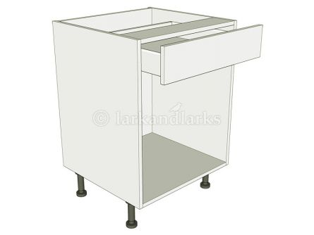 Open Kitchen Base Unit - Drawerline - shown with doors/drawer fronts