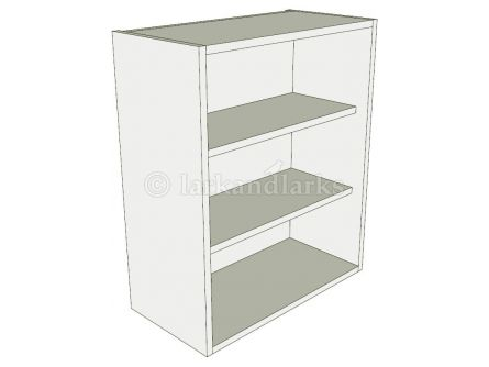 Tall open wall unit 900mm high