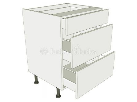 3 drawer kitchen unit drawer pack carcass