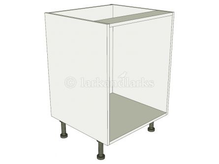 Open base for tray spaces, wicker baskets or pull out wirework
