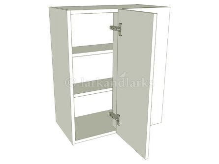 Variable Corner Kitchen Wall Unit - Tall - shown with doors/drawer fronts