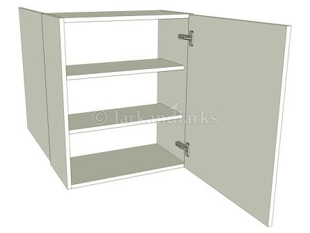 Peninsula kitchen wall unit medium single for Single kitchen wall unit