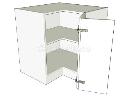 Corner L standard height bedroom unit for bi-fold doors