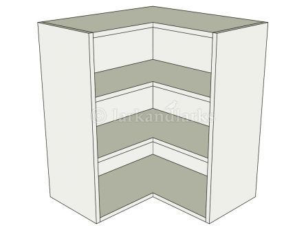 Kitchen 39 l 39 shape wall unit flat pack for Kitchen without wall units