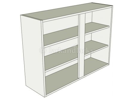 Kitchen tall double wall unit flat pack for Tall kitchen drawer unit