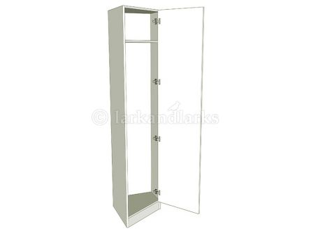 Angled bedroom wardrobe unit