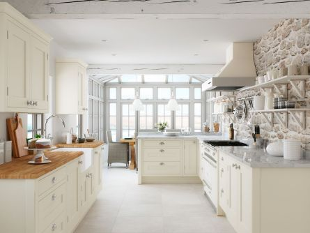 Baystone Cream Ash Kitchen