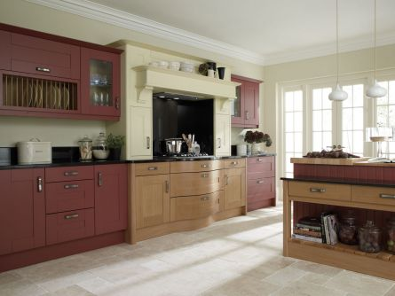 Broadoak Sanded Kitchen