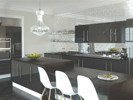 Zurfiz kitchen in Metallic Anthracite