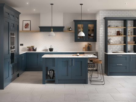 Milbourne Hartforth Blue Kitchen