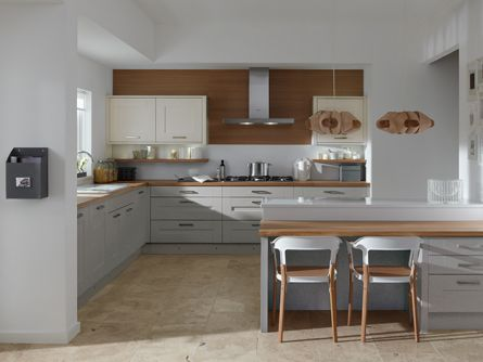 Milbourne Partridge Grey Kitchen