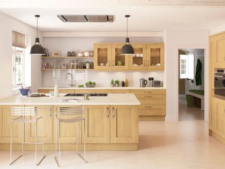 Rivington Oak Lacquered Kitchen