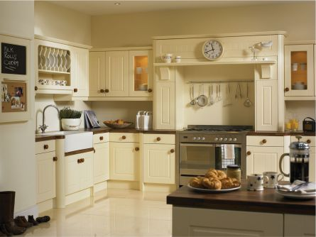 Newport Kitchen - Vanilla Finish