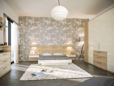 Zurfiz Bedroom In Halifax Natural Oak Ultragloss Cream