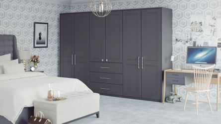 Gloss Bedrooms Wardrobes Units Lark Larks