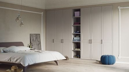 New Sudbury bedroom - painted oak cashmere