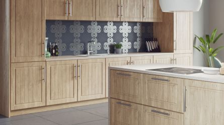 Nova kitchen - light Winchester oak
